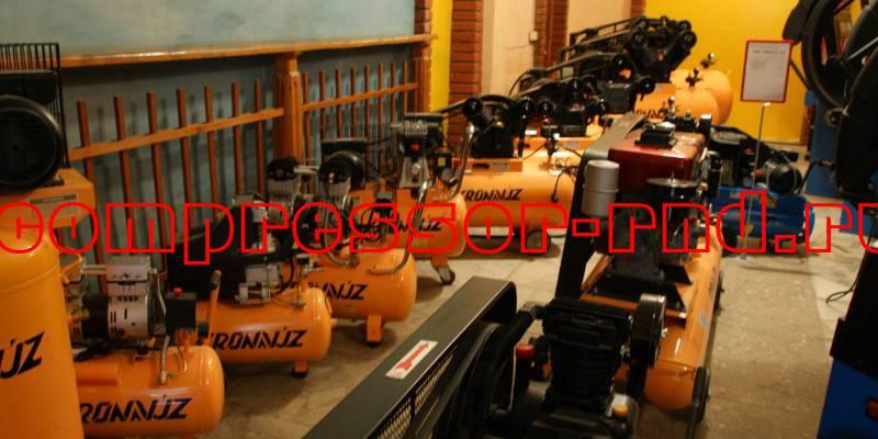 Новый выставочный зал компрессорного оборудования