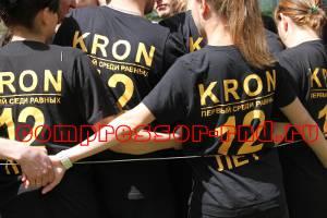 День рождения компании Кронвус-Юг - веревочный курс, конкурс спираль