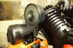 Компрессор с большим воздушным фильтром