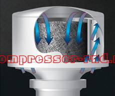 Фильтр воздушного компрессора Comprag