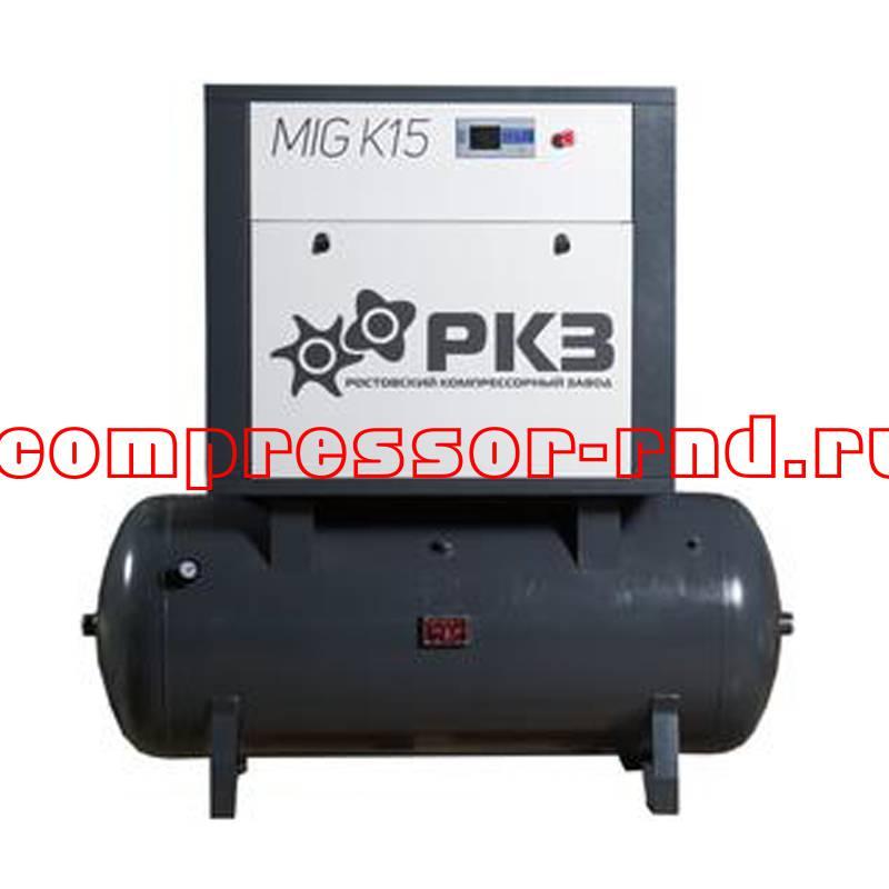 Купить винтовой компрессор MIG 7B по низкой цене