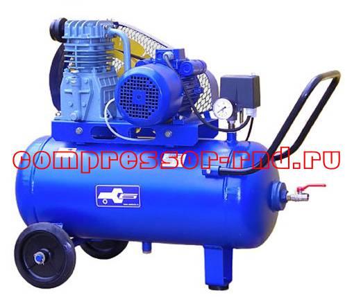 Поршневой компрессор К12 с электроприводом