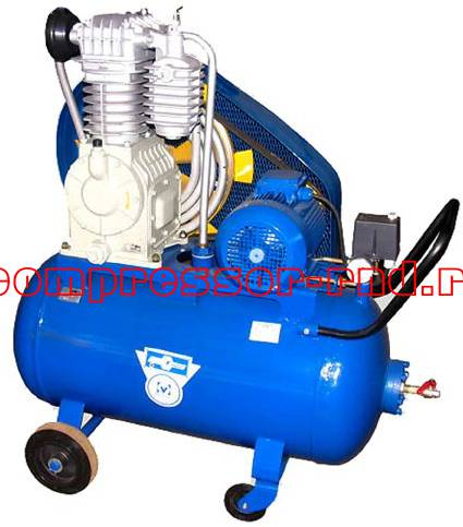 Поршневой компрессор К2 с электроприводом