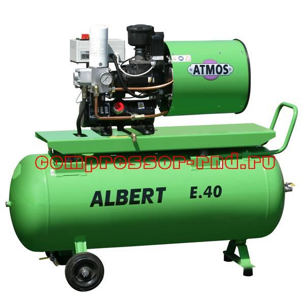 Винтовой компрессор Atmos Albert E 40