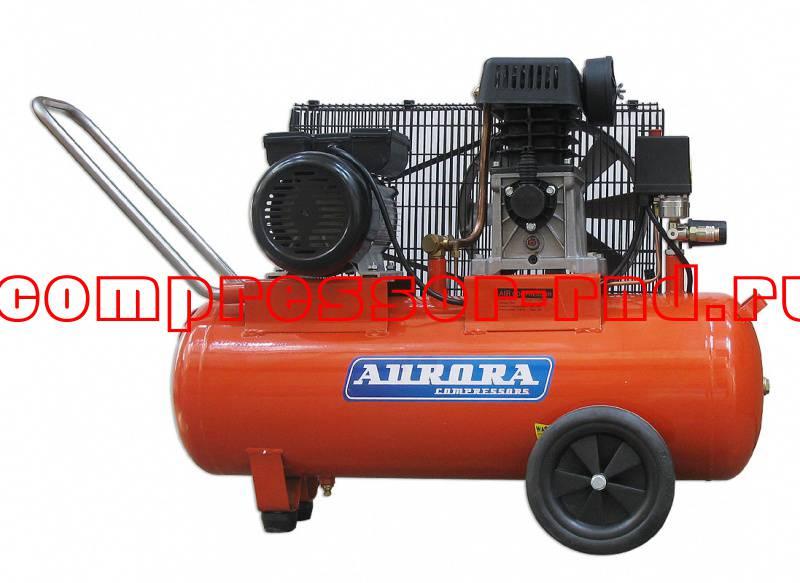Воздушный поршневой компрессор Aurora Storm-50 с ременным приводом