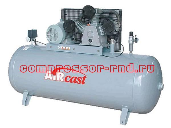СБ4/Ф-500.LB75 T (Remeza поршневой компрессор с горизонтальным расположением ресивера)
