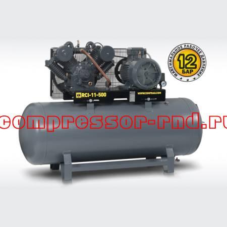 Ременный поршневой компрессор Comprag RCI-11-500 (1920 л/мин)