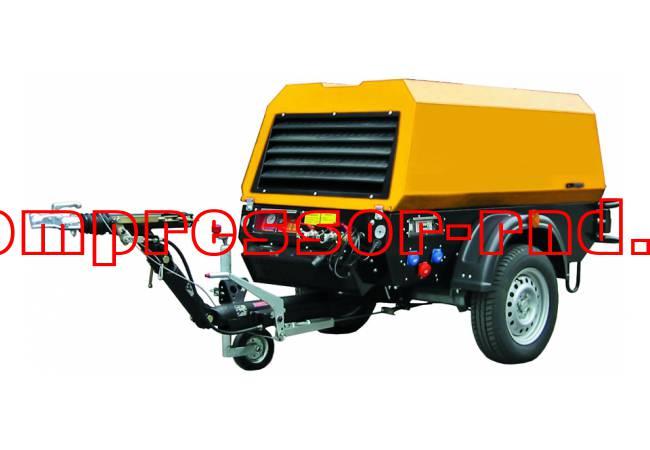 Передвижной дизельный компрессор Rotair ET RM-52K BR LI