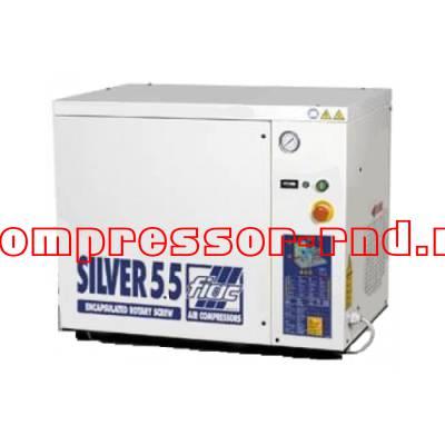 NEW SILVER 5,5 (Винтовой масляный компрессор Fiac)