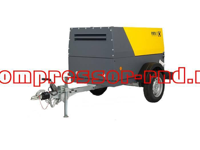 Отправка передвижных дизельных компрессоров для нужд строительной компании