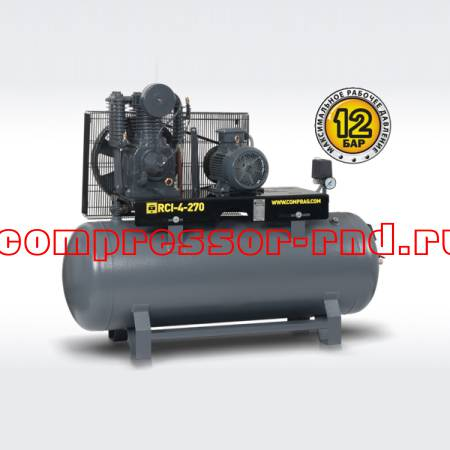 Ременный поршневой компрессор Comprag RCI-4-500 (730 л/мин)