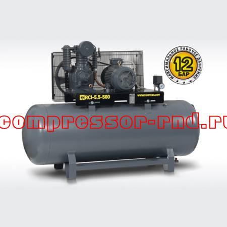 Ременный поршневой компрессор Comprag RCI-5,5-500 (920 л/мин)