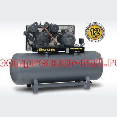 Ременный поршневой компрессор Comprag RCI-7,5-500 (1260 л/мин)