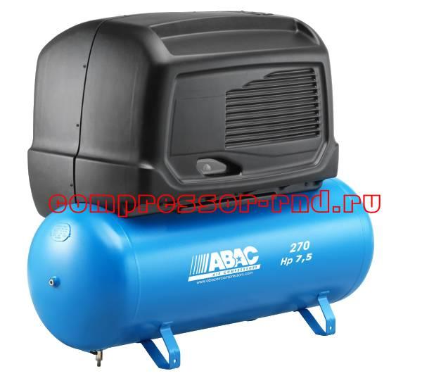 S B6000/270 FT7,5 (ABAC компрессор масляный с ременным приводом и кожухом)