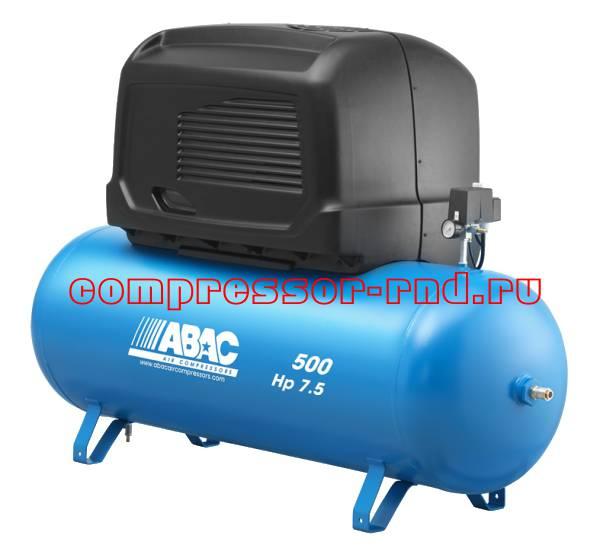 S B6000/500 FT7,5 (ABAC компрессор масляный с ременным приводом и кожухом)
