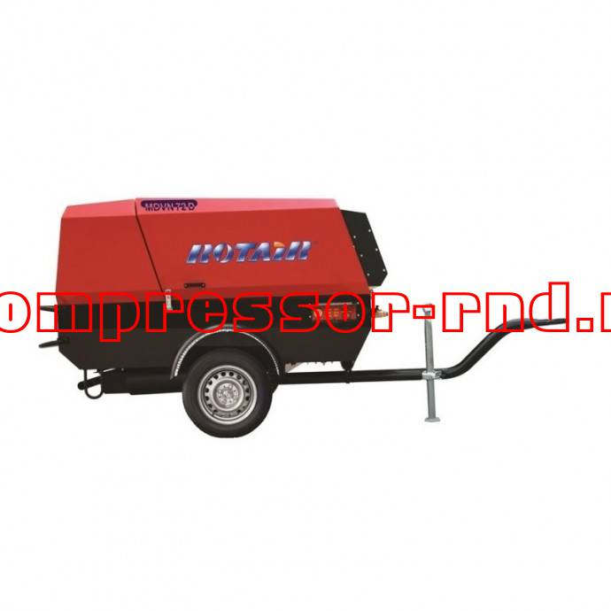 Купить дизельный компрессор Rotair MDVS 120J-10 на шасси