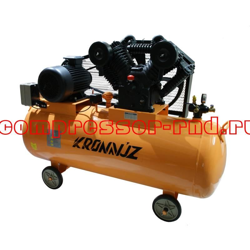 Купить поршневой ременный компрессор KronVuz Air BV300 по оптовой цене