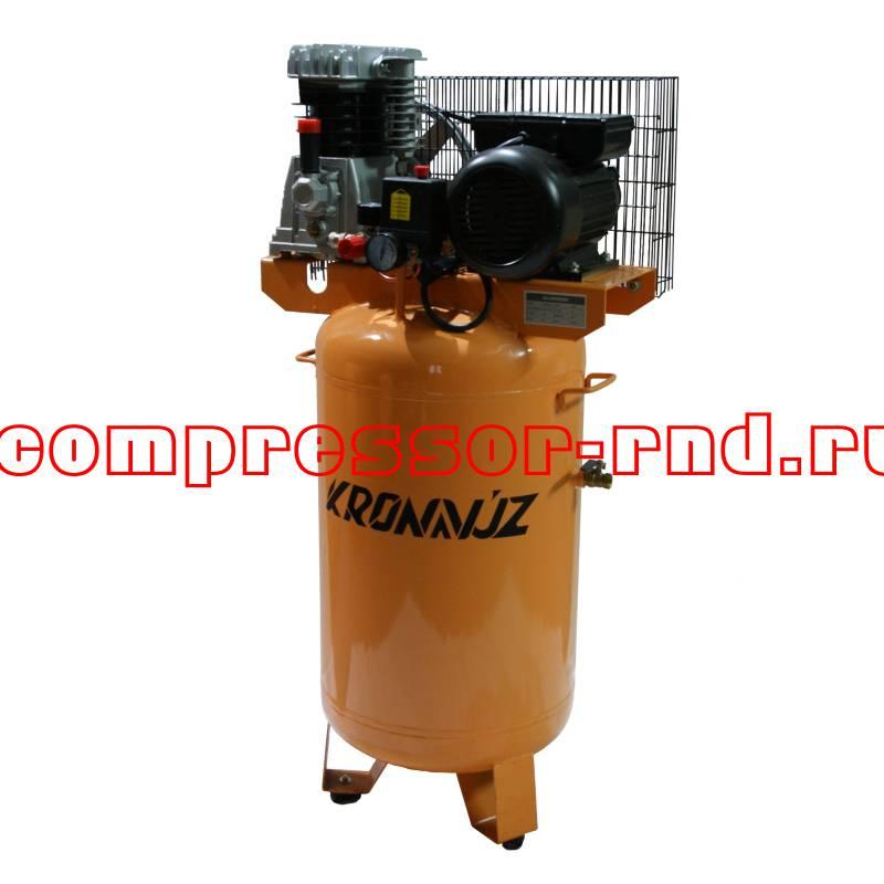 Поршневой компрессор KronVuz Air VZ80 с вертикальным баком