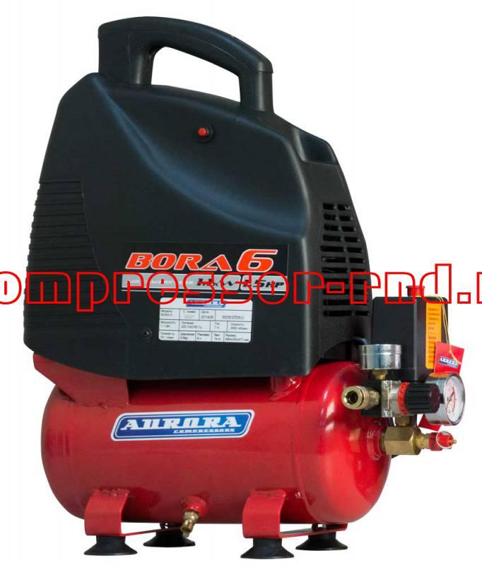 Поршневой безмасляный компрессор Aurora Bora 6
