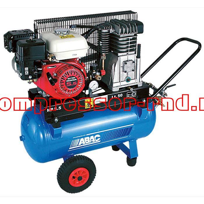 Поршневой бензиновый компрессор Abac Enginair 11+11
