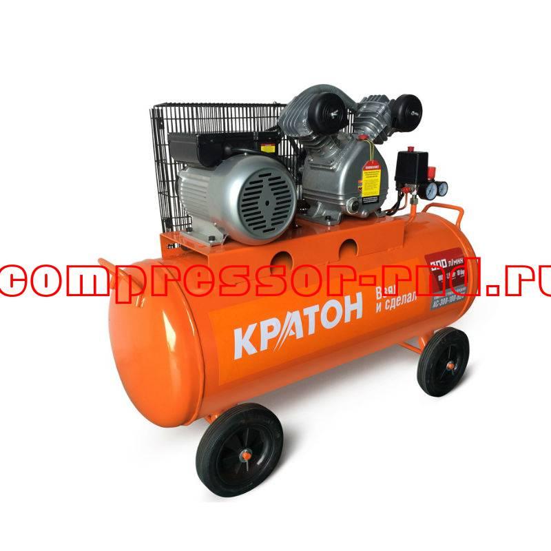 Компрессор с ременной передачей Кратон AC-300-100-BDV купить по выгодной цене