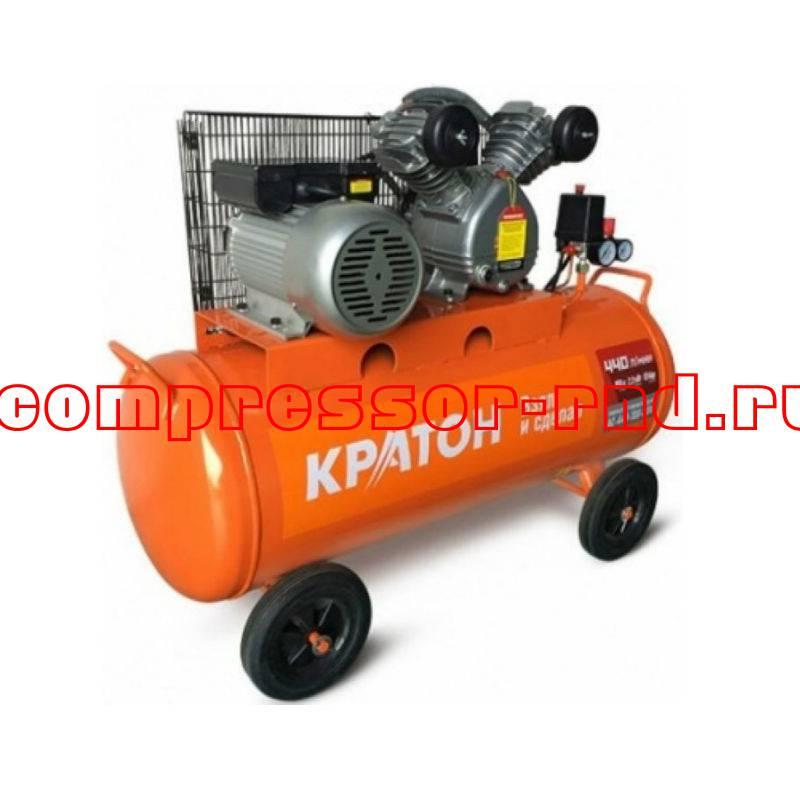 Компрессор с ременной передачей Кратон AC-440-100-BDV купить по выгодной цене