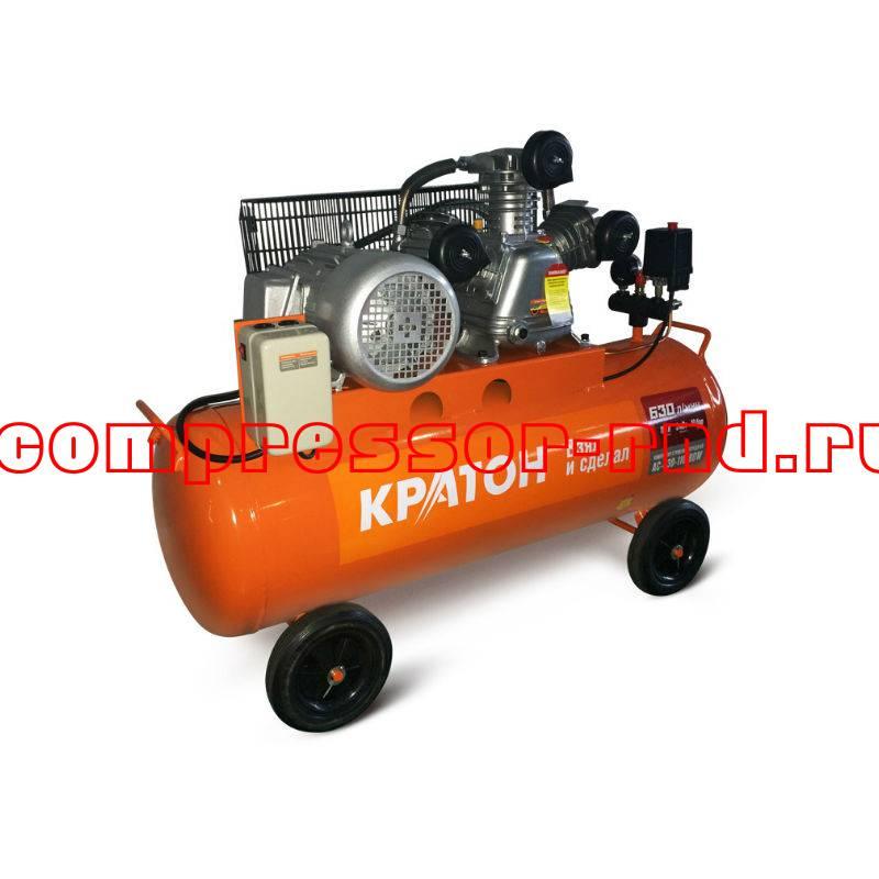 Компрессор с ременной передачей Кратон AC-630-110-BDW купить по выгодной цене