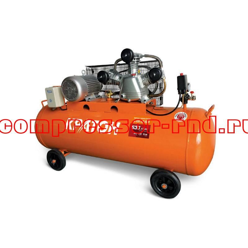 Компрессор ременной масляный Кратон AC-630-300-BDW купить по выгодной цене